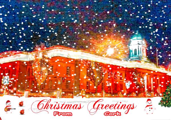 City Hall_Christmas Card