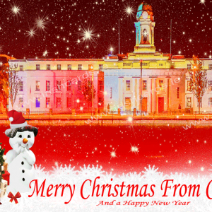 City Hall 2_Christmas Card
