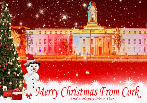 City Hall 2_Christmas Card